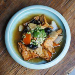 wok de tofu frito